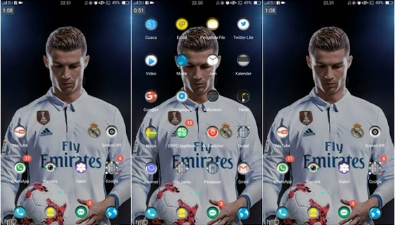 TEMA OPPO A39 - REAL MADRID