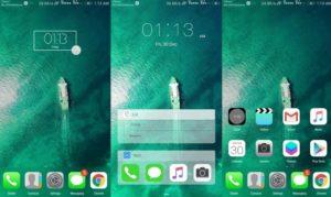 Kumpulan Tema Huawei HWT Keren - iOS DARK V3