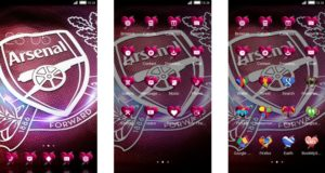 Download Tema Arsenal untuk Hp Android Apk - Pink