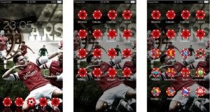 Download Tema Arsenal untuk Hp Android Apk - Selebrasi