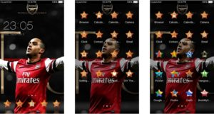 Download Tema Arsenal untuk Hp Android Apk - Theo Wallcot