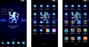 Download Tema Chelsea Android Keren & Gratis - Dark Blue