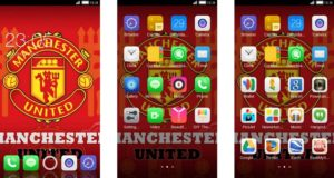 Tema Manchester United Android - iPhone