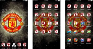 Tema Manchester United Android - Unique Icon