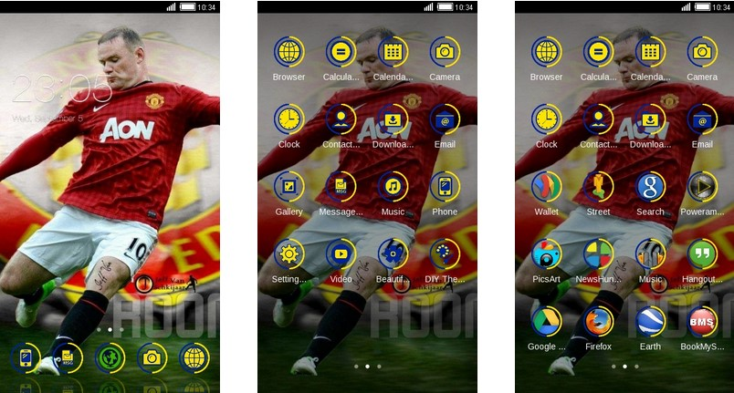 11 Tema Manchester United Android : Bisa untuk Xiaomi dan Oppo! – Rambat.id