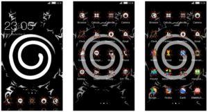 Tema Naruto Shippuden Android - Segel Jinjuriki