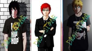 Tema Naruto HP Oppo - Sasuke, Gaara dan Naruto