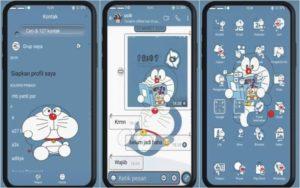 Tema Oppo Doraemon Full Mod Tembus Akar