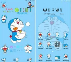 Tema Doraemon Xiaomi Terbaru MTZ Tembus Aplikasi - Fat