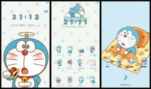 Tema Doraemon Hp Xiaomi MTZ Tembus Aplikasi
