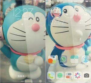 Tema Doraemon Xiaomi MTZ Tembus Aplikasi Lucu Cute - Boneka