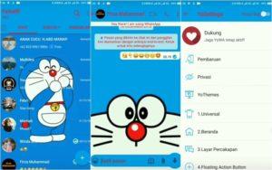 Tema Whatsapp Doraemon Apk Terbaru dan Cara Memasangnya