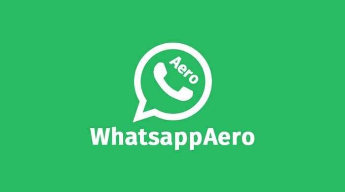 Review Aplikasi aero whatsapp versi biasa dan whatsapp aero apk,