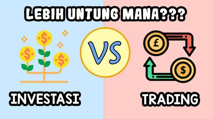 Perbedaan Investasi Saham dan Trading Saham