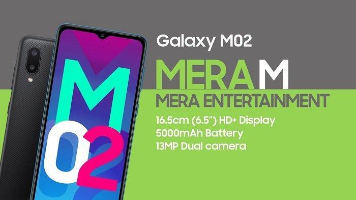 Samsung M02 Harga Dan Spesifikasi Terbaru 2021