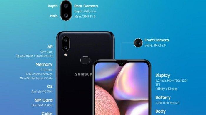 Harga Samsung a10s Lengkap Dengan Spesifikasinya