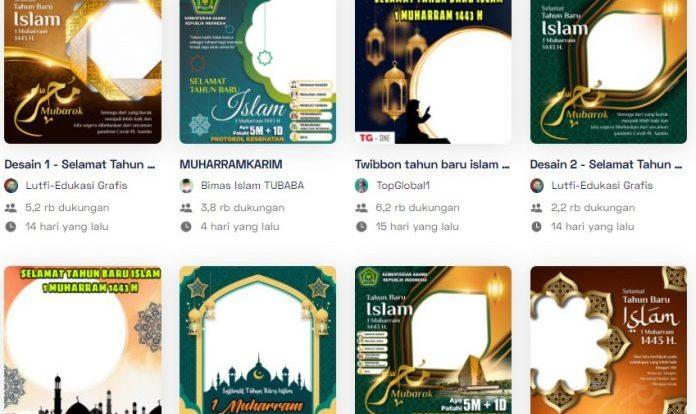 Link Twibbon Tahun Baru Islam 2021 Kemenag Terbaru