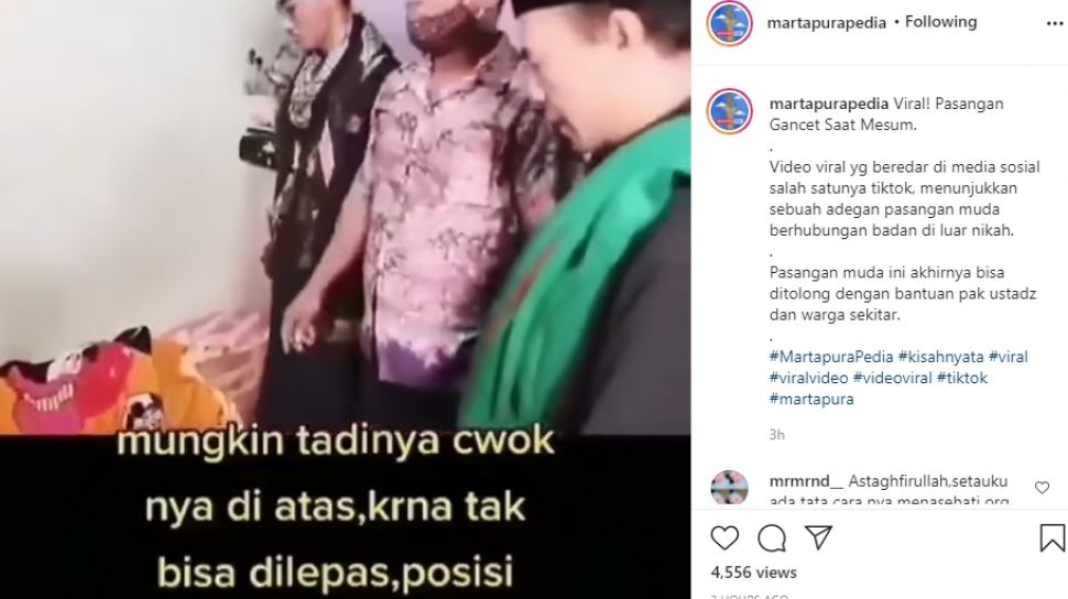 Video Viral Gancet Pasangan Tidak Bisa Lepas Saat Berhubungan